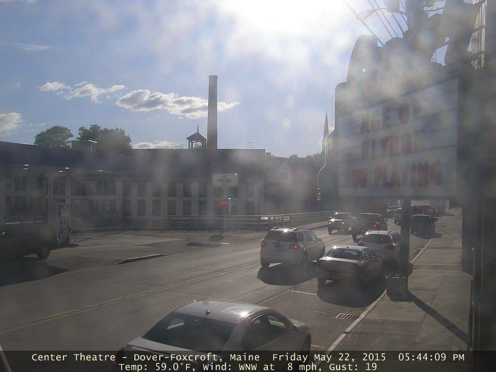Downtown Dover Foxcroft Webcam